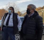 Gianluca Quadrini si congratula con il Vice Presidente di Forza Italia, Antonio Tajani, per la nomina di Coordinatore Nazionale di Forza Italia.