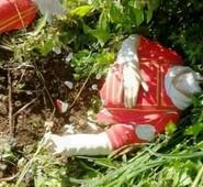 """Sgurgola, distrutta da vandali la statua di San Leonardo. Quadrini:""""Pieno sostegno al sindaco Corsi e alla città."""""""
