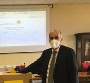 Gianluca Quadrini si congratula con il nuovo Rettore dell'Università degli Studi di Cassino e del Lazio Meridionale