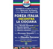 FORZA ITALIA INCONTRA LA CIOCIARIA