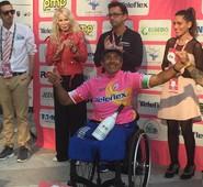 """Arpino, il campione paralimpico Bove conquista definitivamente la Maglia rosa a Torino. Quadrini:""""Orgoglio ciociaro"""""""