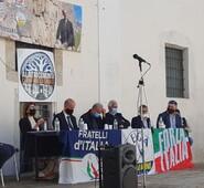Gianluca Quadrini a sostegno del candidato a sindaco di Alatri, Maurizio Cianfrocca.