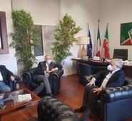 Il Presidente Antonio Tajani annuncia l'apertura dello sportello dei finanziamenti europei in provincia di Frosinone. I Consiglieri Quadrini e Ferdinandi soddisfatti perché portavoce di questa esigenza.