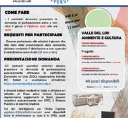 Gianluca Quadrini annuncia l'apertura del bando della Comunità Montana al Servizio Civile Universale