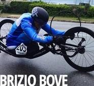 Giro d'Italia Handbike 2019. L'arpinate Bove sul podio. Congratulazioni di Quadrini.