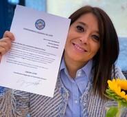 Gianluca Quadrini si complimenta con il nuovo Vice Coordinatore Regionale Vicario per Forza Italia, Martina Sperduti