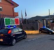 Arce, la Caserma dei CC colorata con il Tricolore. Un segno importante per la cittadinanza in questi giorni difficili a causa del Covid19.