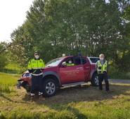 ARCE, 25 aprile. Il Gruppo di Protezione Civile Guardie Forestali Ambientali al servizio del cittadino.
